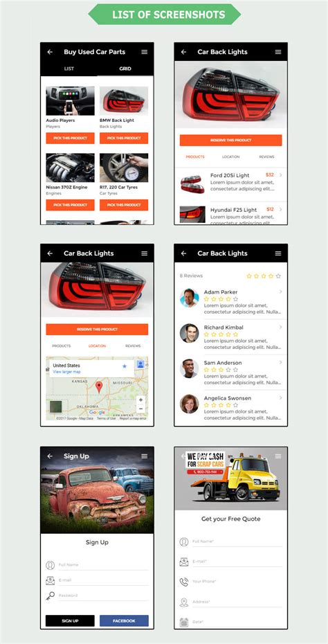 responsive ecommerce mobile template free premium template