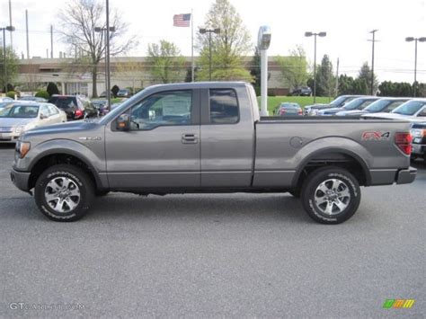 2012 Ford F150 Fx4 by 2012 Sterling Gray Metallic Ford F150 Fx4 Supercab 4x4