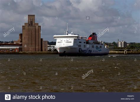 car boat liverpool liverpool to belfast ferry stock photos liverpool to