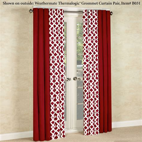 trellis drapes trellis thermalogic tm insulated room darkening grommet
