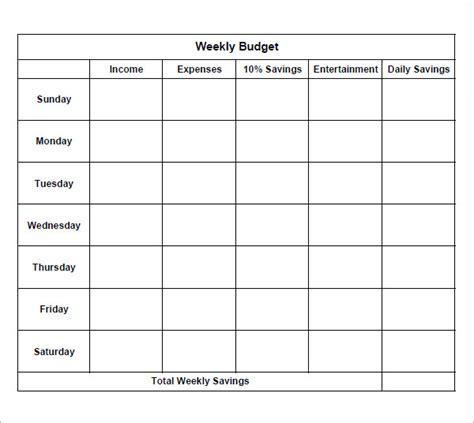 weekly budget templates weekly budget worksheet printable worksheets for school