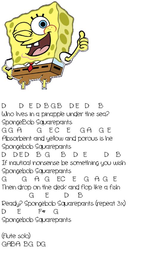 theme songs of spongebob theme song wiki myideasbedroom com