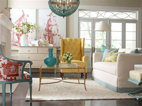 Blue And Yellow Living Room Chairs Yellow Tufted Chair Contemporary Living Room Cr