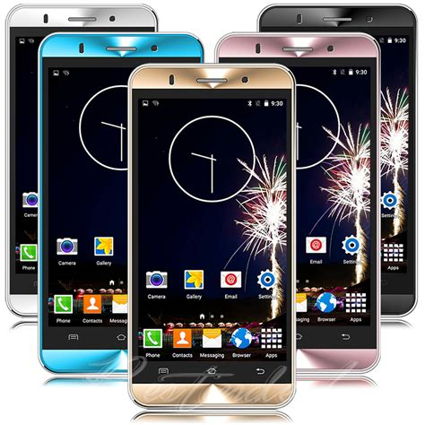 mobile phone by 5 quot unlocked android cell phone sim 3g gsm gps t