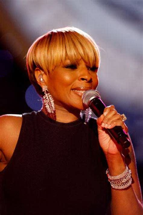 J Blige Hairstyles by J Hairstyles 2012