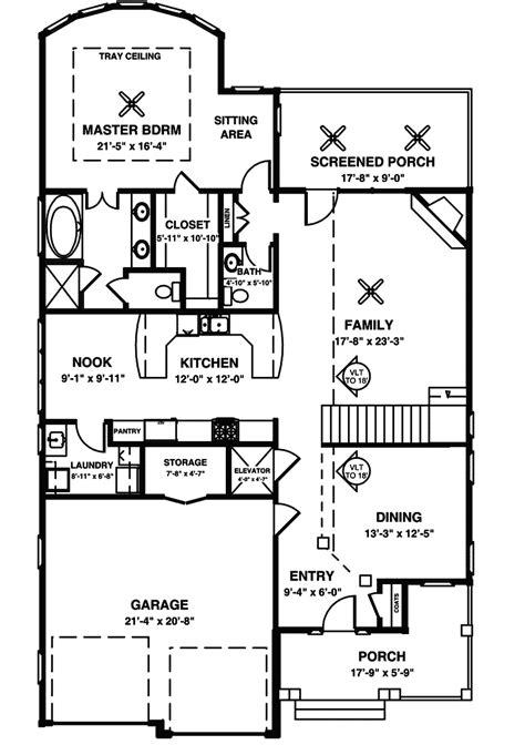 baby nursery contemporary narrow lot house plans plan rk baby nursery house plans with elevator baldwin narrow lot