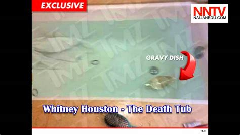 whitney houston died in bathtub the bathroom tub of beverly hilton hotel were whitney