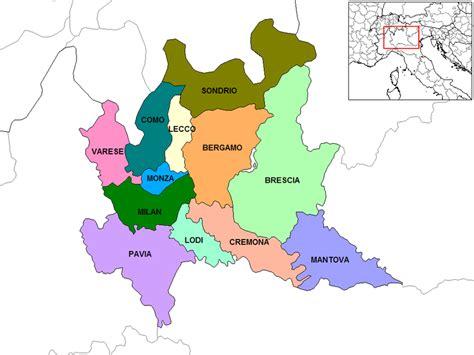 provinciale lombarda cartina muta lombardia fisica
