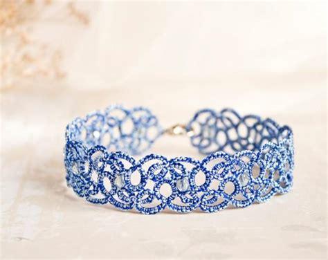 And Something Blue something blue anklet blue lace anklet something blue