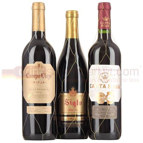 best rioja wines gran reserva rioja wine selection 3x75cl
