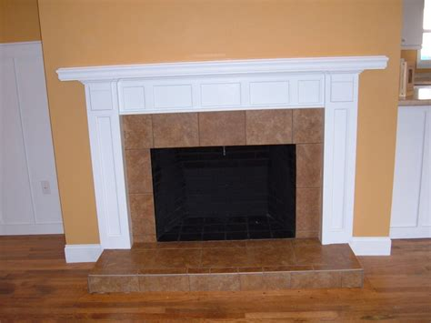 a simple mantel by todd thomas lumberjocks com