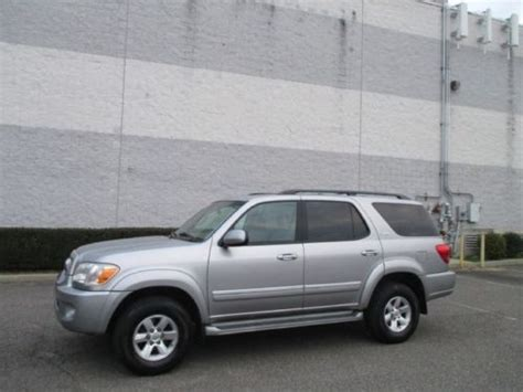 06 Toyota Sequoia Purchase Used 06 Toyota Sequoia Leather Moonroof Third Row