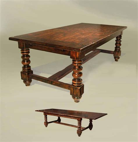 old dining room tables rustic old english style expandable dining table solid