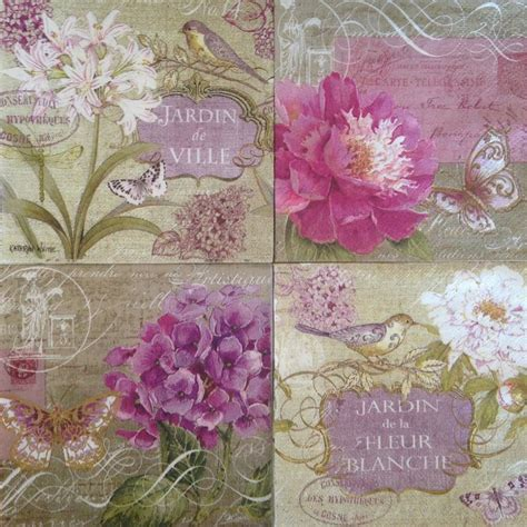 Paper Napkin Decoupage Ideas - 1000 ideas about napkin decoupage on