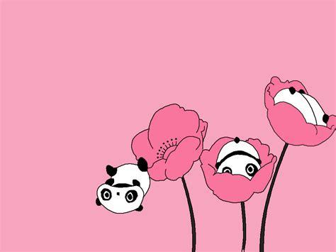 Panda Pink pink panda wallpaper wallpapersafari