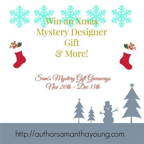 Is Giveaway One Word - samantha young s blog christmas mystery gift giveaway 2 november 27 2015 09 47