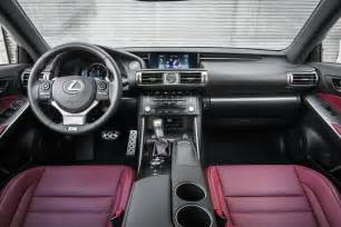 2014 lexus is 350 f sport interior 02 photo 8
