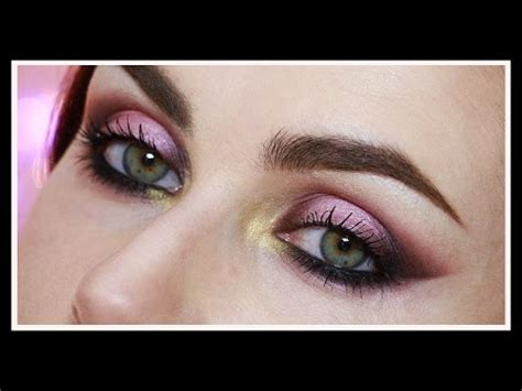 eyeshadow tutorial gwen stefani palette urban decay x gwen stefani makeup tutorial punk inspired