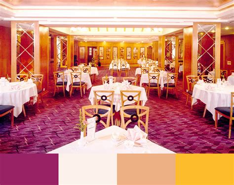 which color is considered to be an appetite suppressant a matter of color restaurant interior design color