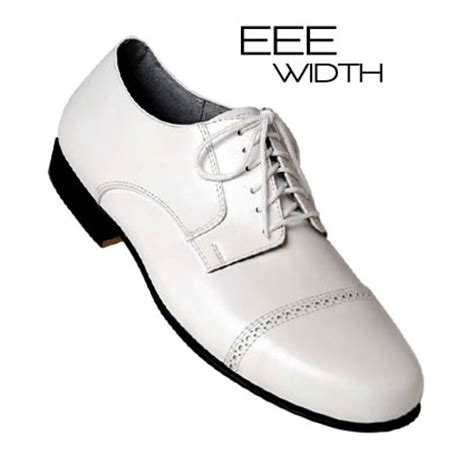 mens white oxford shoes ari 145w wh s white wide captoe oxford shoes