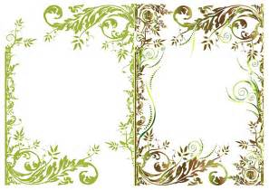 flower border template cliparts co