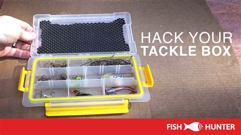 fishing boat hacks fishing hack make your tackle organizers better
