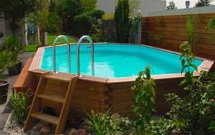 piscine hors sol bois piscine hors sol en bois mon comparatif