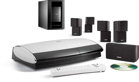 bose lifestyle  series iii  black speakers dvd home theater system  umusic