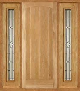 Exterior Front Doors Uk External Oak Doors With Sidelights