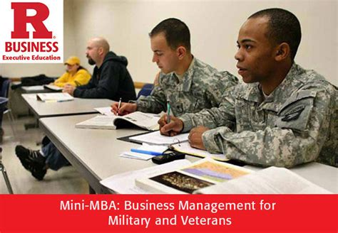 Rutgers Mba Career Management by Rutgers Mini Mba Veterans Business Services
