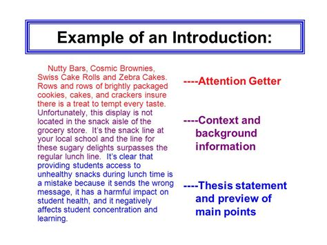 Exle Of An Introduction In An Essay by Essay Writing Expository Writing Opinion Essay Ppt