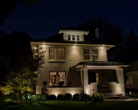 Exterior Can Lights what size can lights are in the soffits it looks