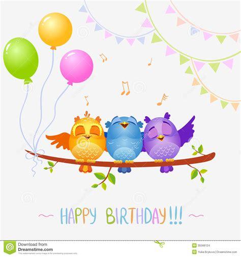 happy birthday bird images happy birthday graphics for birds sing bird