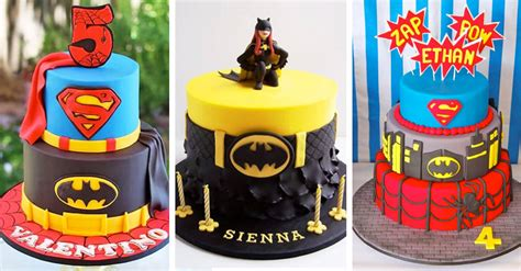cakespiration  superhero cakes   ultimate party
