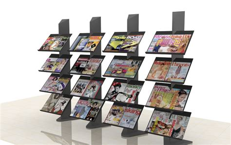 Rak Display Majalah rak majalah khoirul booth