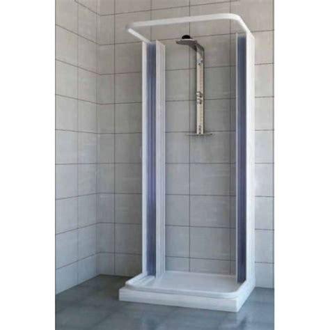 piatto doccia 60x70 box doccia in pvc tre lati con apertura centrale