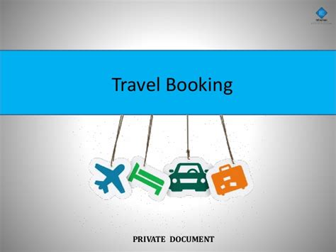booking pictures travel booking business plan presentation
