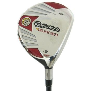 Fair Way 3 Made Burner Taylormade Burner Steel Fairway Wood 3 Wood 15 Degree Used