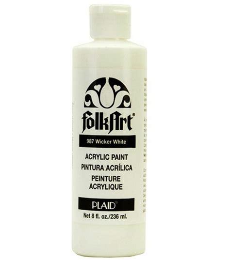 acrylic paint white folkart 174 acrylic paint white at joann
