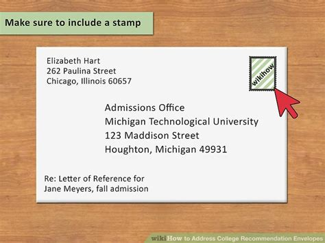 how to make a letter envelope how to address college recommendation envelopes 12 steps