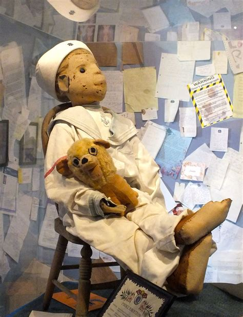 haunted doll in museum robert doll