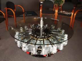 Engine Glass Coffee Table Another Airplane Engine Coffee Table Boeing And Aerospace News