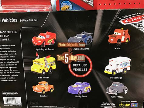 Cars 3 Mini Racers Dr Damage Hicks Dirt Mcqueen disney pixar cars 3 the new mini s mini s blind bag take five a day