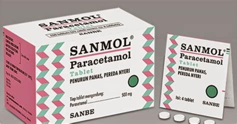 Obat Grafadon sanmol tablet tablet paracetamol parasetamol daftar