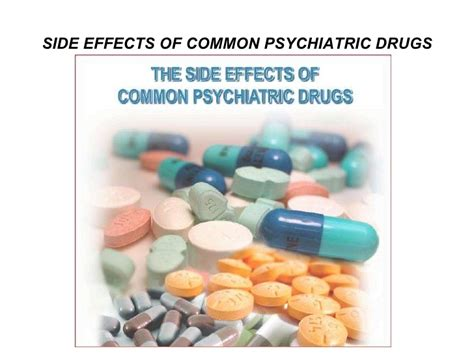 Common Detox Drugs by Side Effects Of Common Psychiatric Drugs