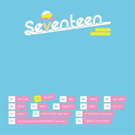 Letter Seventeen Album Seventeen Has A Nice Comeback Hello Asia