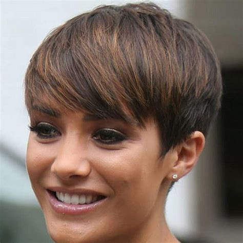 short pixie haircut with med brown and carmel highlights 20 collection of medium short pixie haircuts