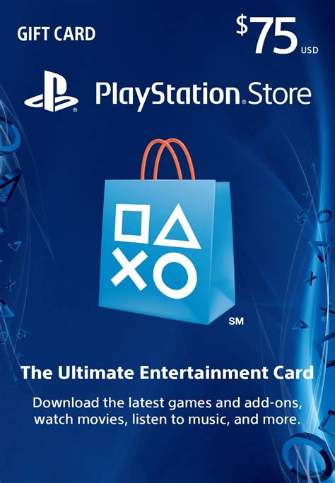 buy psn gift card code usa 75 for ps4 ps3 ps vita and download - Buy Playstation Gift Card With Paypal