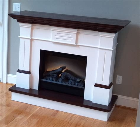 Modern Baseboard fireplace mantels and your elegant home livingroom stone