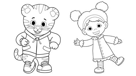 coloring pages daniel tiger the daniel tiger coloring pages gianfreda net